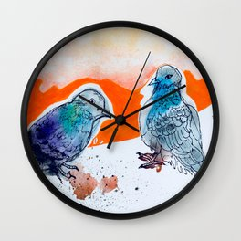 The Conversation at Bay and College Toronto Wall Clock