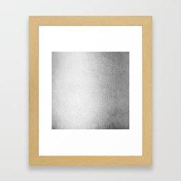 Moonlight Silver Framed Art Print