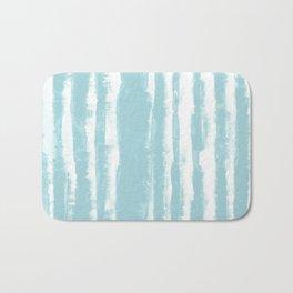 Shibori Stripe Seafoam Bath Mat
