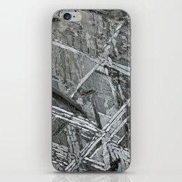 Meteorite structure iPhone Skin