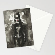 TDKR-catwoman Stationery Cards