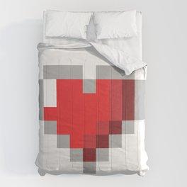 8bit Heart Comforters