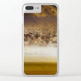 Belt Of Jupiter Clear iPhone Case