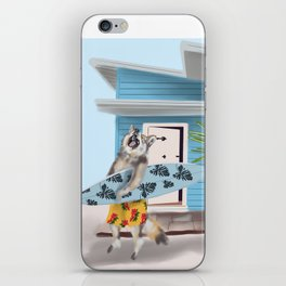Calvin the Coyote iPhone Skin