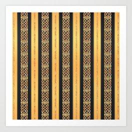 Viking gold Art Print