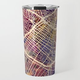 Los Angeles City Street Map Travel Mug
