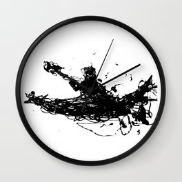 Kayakers Kayak Wall Clock