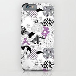 Girls Girls Goth iPhone Case