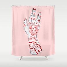 Work It Shower Curtain