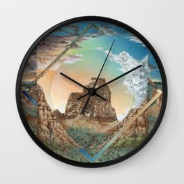 Colorado National Monument Polyscape Wall Clock