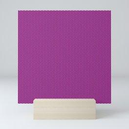 Pink Seigaiha Mini Art Print