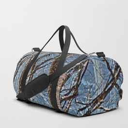 Silent in Winter Duffle Bag