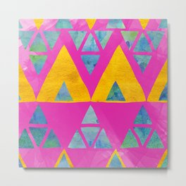 Triangle Jangle Metal Print