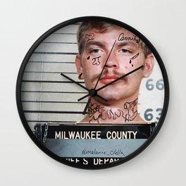 """""""LiL Dahmer"""" Wall Clock"""