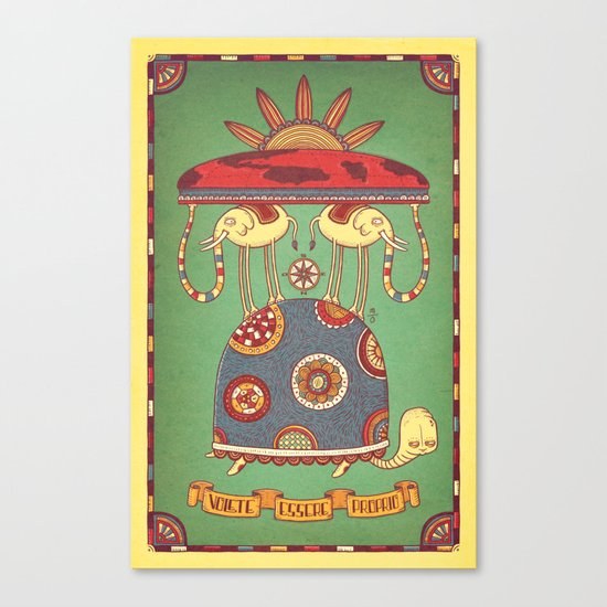 Volete Essere Proprio Canvas Print