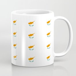 flag of cyprus – cypriot,cypriote,cyprian, Κύπρος,nicosia. Coffee Mug