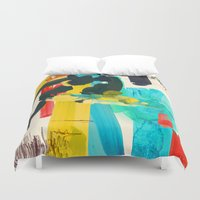 lonely Duvet Covers featuring Lonely Water by Picomodi
