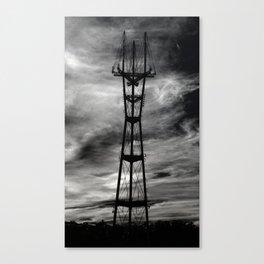 sutro tower bodyshot Canvas Print