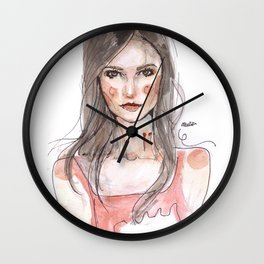 Vampy Vamp Wall Clock