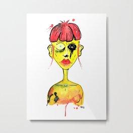 Bruise II Metal Print