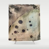 camus Shower Curtains featuring Sisyphus by jbjart