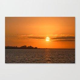 Sunrise Migration Canvas Print