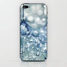 Sparkling Dandy in Blue iPhone & iPod Skin