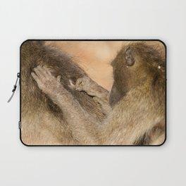 Grooming Baboons Laptop Sleeve