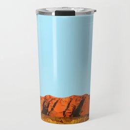 uluru polygon Travel Mug