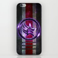 n7 iPhone & iPod Skins featuring N7 Paragade/Renagon by Toronto Sol