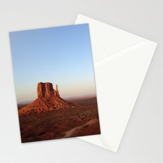 Monument Valley Landscape at Sunset Stationery Cards