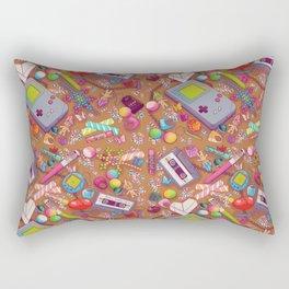 90's Sock Drawer Rectangular Pillow