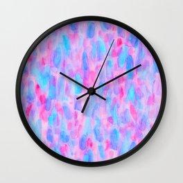 Petal Pash Wall Clock