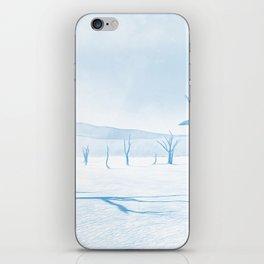 deadvlei desert trees acrwb iPhone Skin