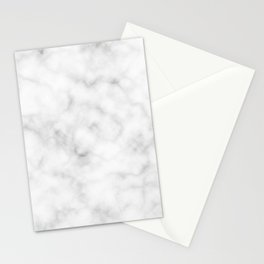 Light Grey Marble Stationery Cards