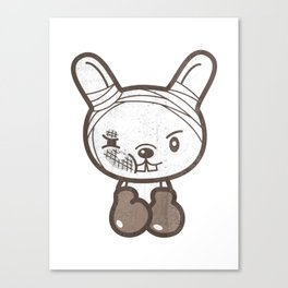 Boxing Bunny Canvas Print