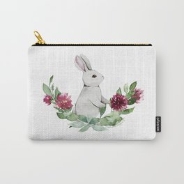 Playful Bunny Carry-All Pouch