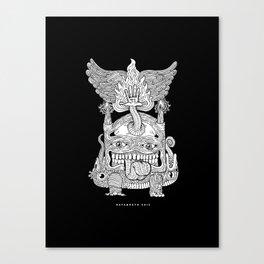 TOTEM - KNOCKOUT Canvas Print