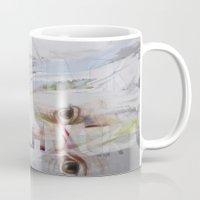 rorschach Mugs featuring RORSCHACH by Rosalind Breen