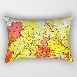 Gold autumn. Rectangular Pillow