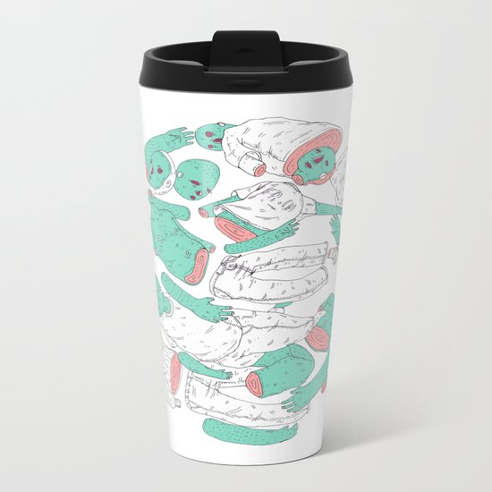 extraterrestrial ball Metal Travel Mug
