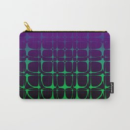 Gradient Bubble Pattern (Purple/Green) Carry-All Pouch