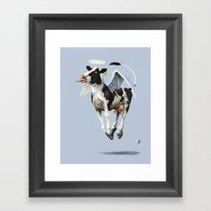 Holy Cow (colour) Framed Art Print