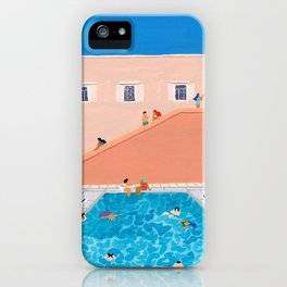 Gathering Poolside iPhone Case