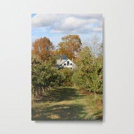 Hope Orchard Farmhouse Metal Print