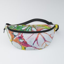 Leaves on the World Tree: Czechs Lípa ( Linden or Lime ) Fanny Pack