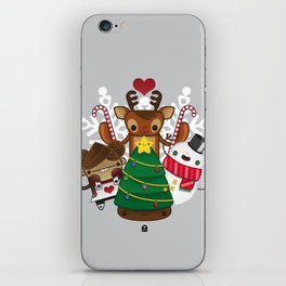 Merry Christmas Chestnut Girl!!! iPhone Skin