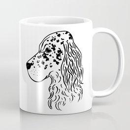 English Setter (Black and White) Coffee Mug