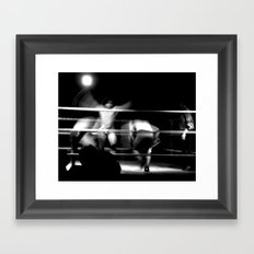 Rasslin 4 Framed Art Print
