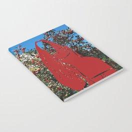 Red girl next door Notebook